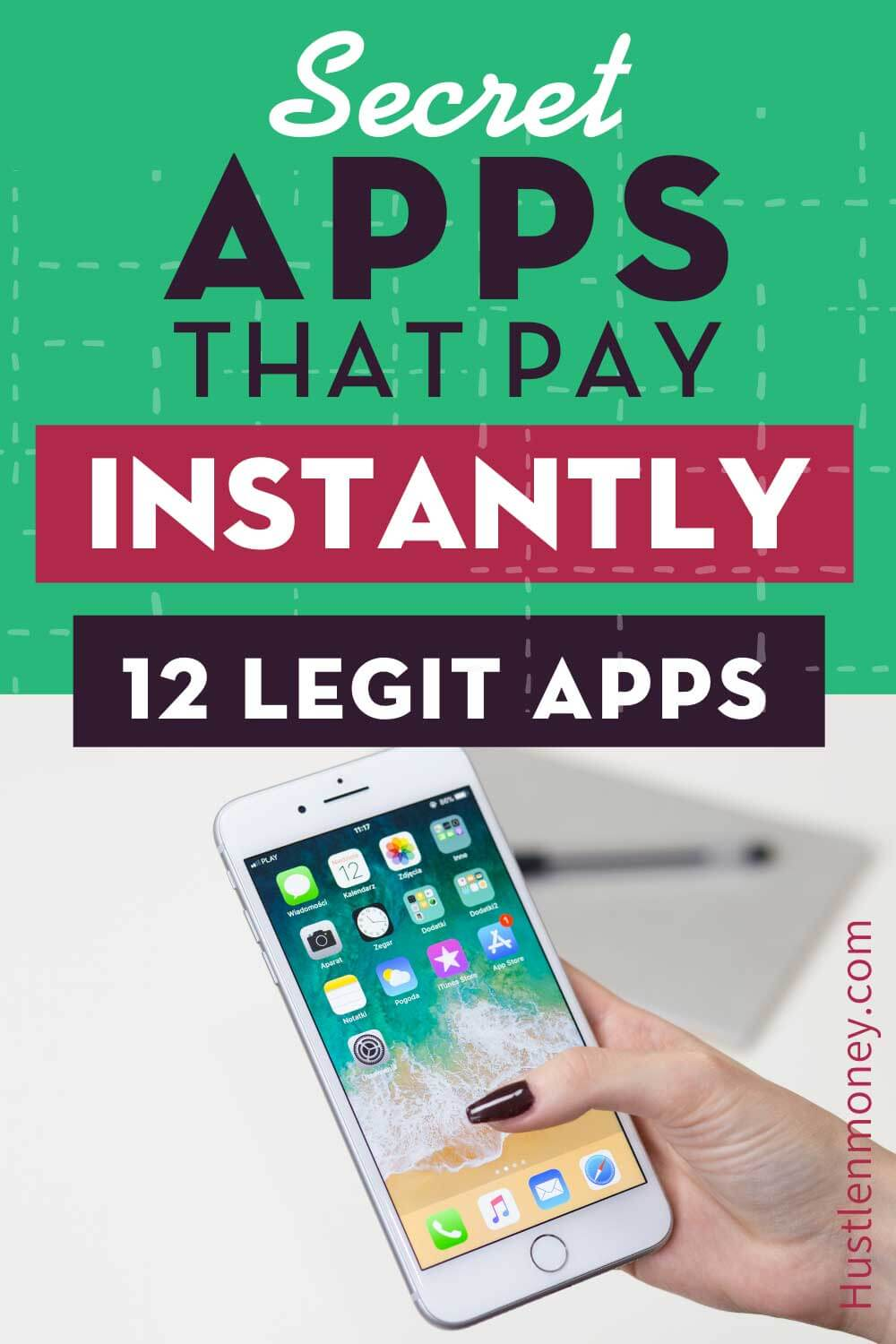 Apps that pay you instantly